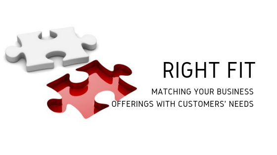 Matching your Business offerings to your Customers' Needs